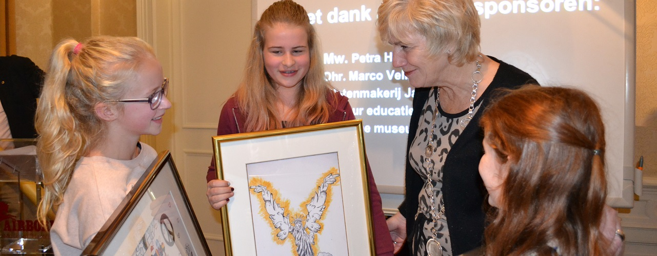 Uitreiking Peace Poster Contest 2017